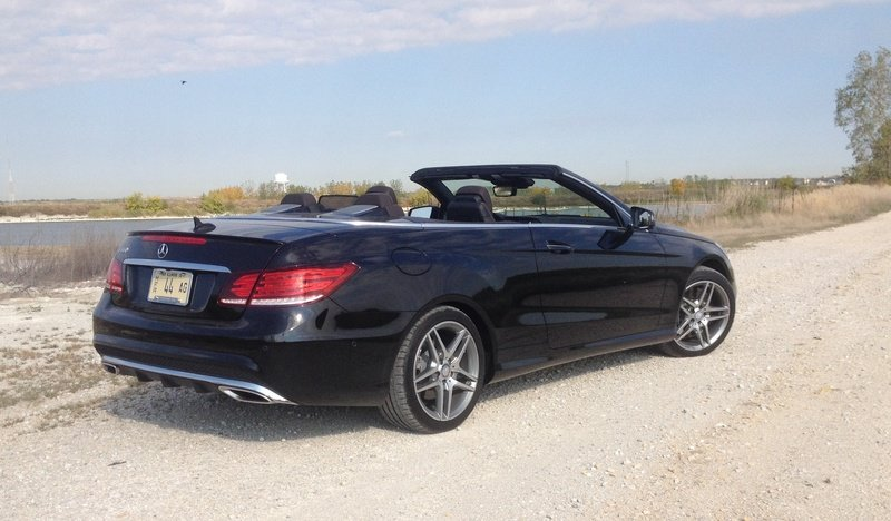 2014 Mercedes-Benz E550 Cabriolet - Driven High Resolution Exterior - image 529293