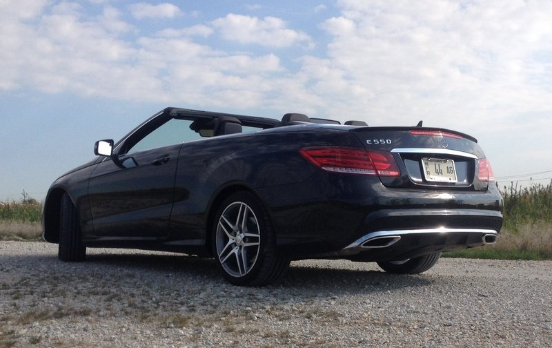 2014 Mercedes-Benz E550 Cabriolet - Driven High Resolution Exterior - image 529276