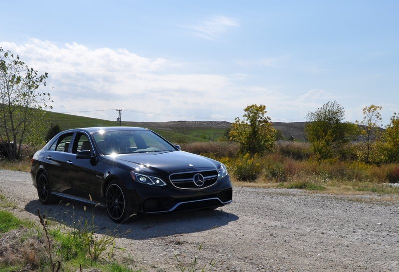2014 Mercedes-Benz E63 AMG S-Model - Driven High Resolution Exterior - image 527319