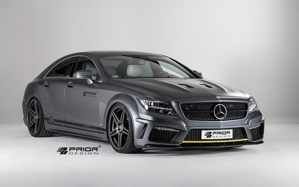 2013 2014 mercedes benz cls pd550 black edition by prior for 2014 mercedes benz cls550 0 60