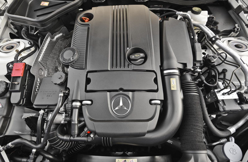 2014 Mercedes-Benz SLK-Class High Resolution Drivetrain - image 527282