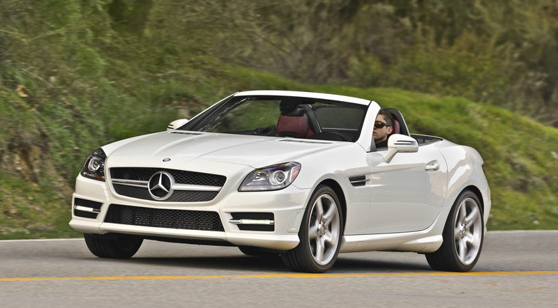 2014 Mercedes-Benz SLK-Class High Resolution Exterior - image 527251