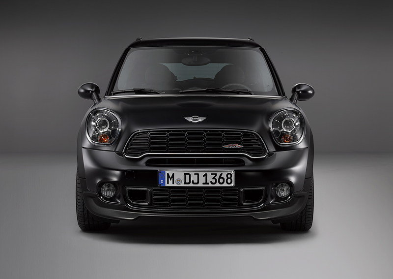 2014 Mini Countryman and Paceman Frozen Black Limited Edition