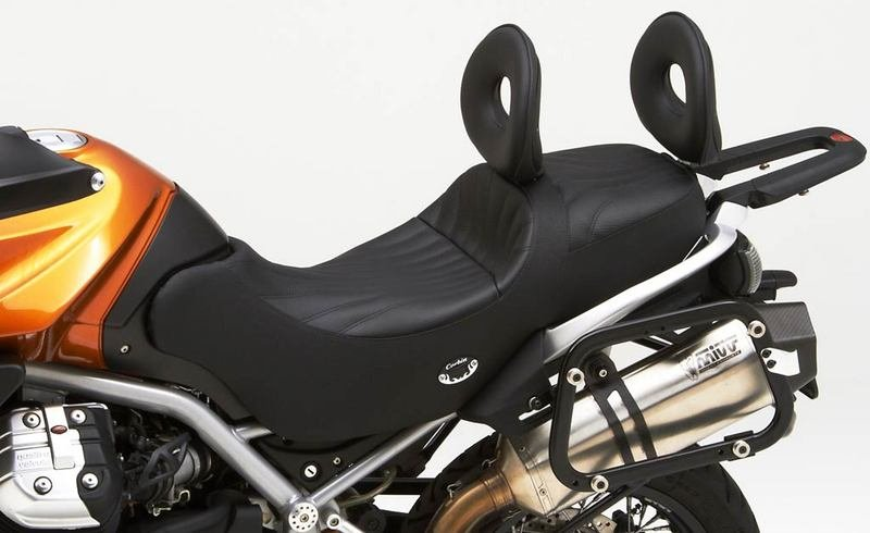 New Corbin saddle available for the Moto Guzzi Stelvio 1200