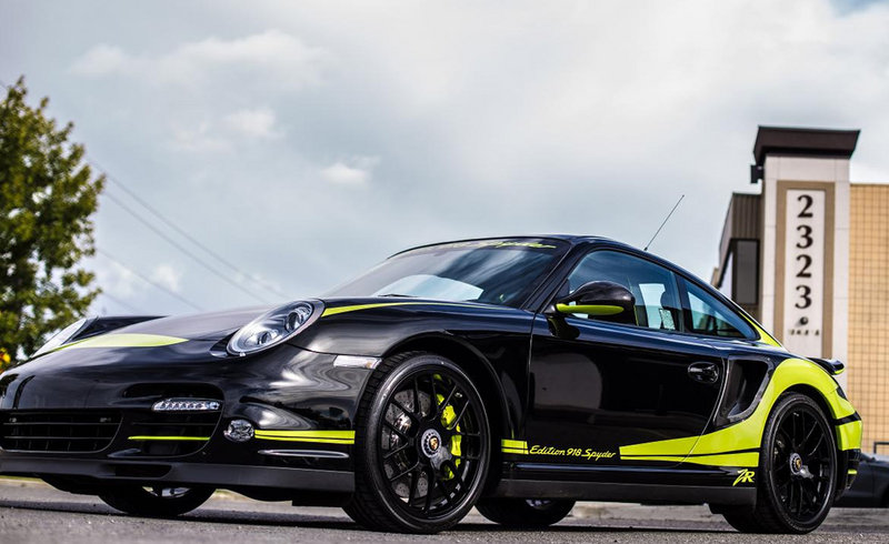 Elegant 2011 Porsche 911 Turbo S Edition 918 Spyder By ZR Auto Amazing Pictures
