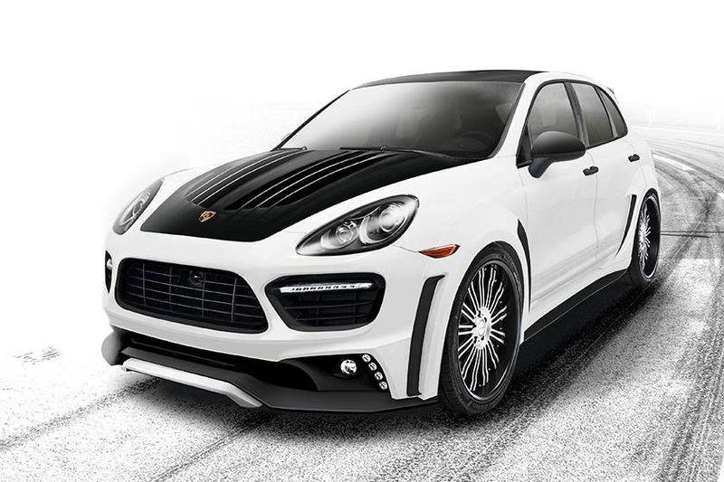 2013 Porsche Cayenne Turbo Black Bison Edition by Wald International