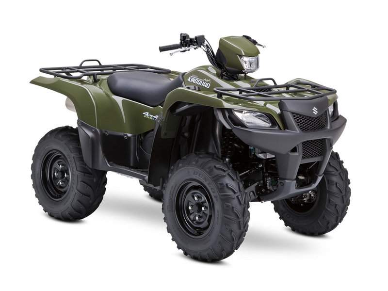 2014 Suzuki KingQuad 750AXi Power Steering