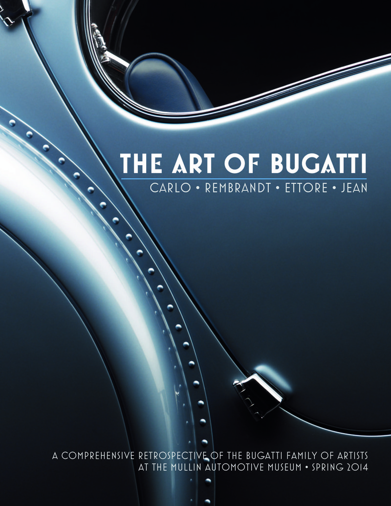 The Art Of Bugatti Exhibit Coming to The Mullin Automotive Museum in Spring 2014