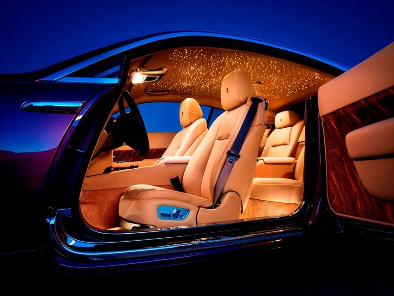 TopSpeed Design Showdown: 2014 Rolls-Royce Wraith vs 2013 S-Class Coupe Concept Interior - image 530037