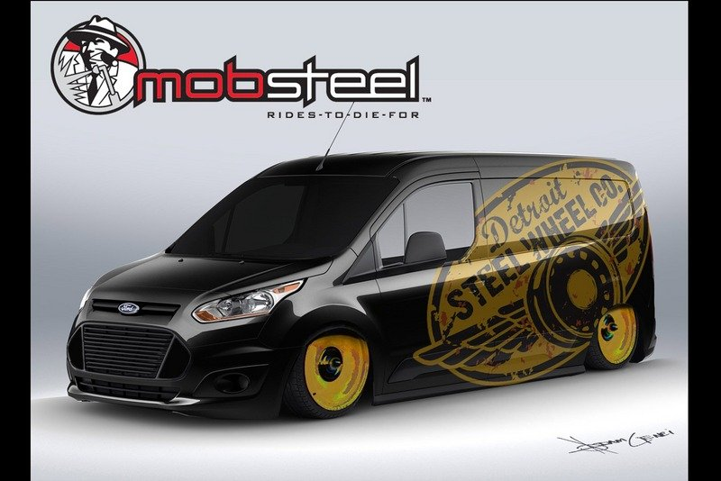 Vandemonium Hits Fever Pitch With 10 Customized Ford Transit Connect Vehicles Exterior Drawings - image 530201