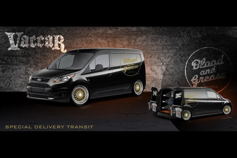 Vandemonium Hits Fever Pitch With 10 Customized Ford Transit Connect Vehicles Exterior Drawings - image 530193