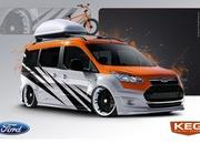 Vandemonium Hits Fever Pitch With 10 Customized Ford Transit Connect Vehicles - image 530194