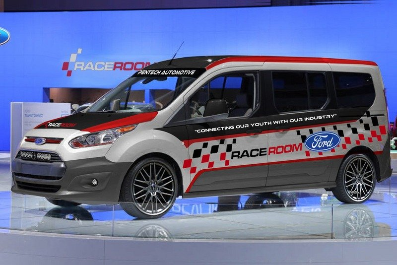 Vandemonium Hits Fever Pitch With 10 Customized Ford Transit Connect Vehicles Exterior - image 530195