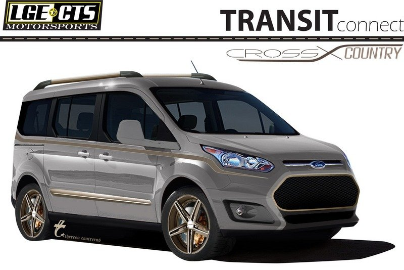 Vandemonium Hits Fever Pitch With 10 Customized Ford Transit Connect Vehicles Exterior Drawings - image 530196