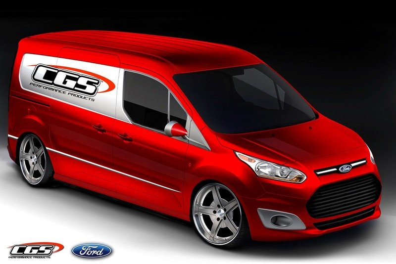 Vandemonium Hits Fever Pitch With 10 Customized Ford Transit Connect Vehicles Exterior Drawings - image 530200