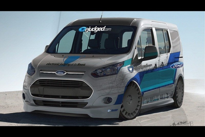 Vandemonium Hits Fever Pitch With 10 Customized Ford Transit Connect Vehicles Exterior Drawings - image 530192