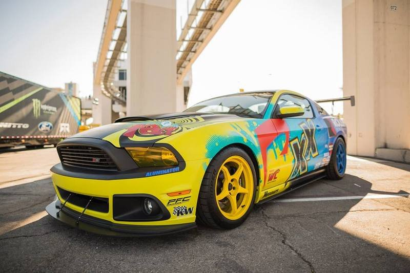 2014 Ford Mustang Roush Performance Pirelli World Challenge Racecar