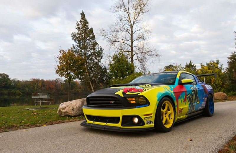 2014 Ford Mustang Roush Performance Pirelli World Challenge Racecar Exterior - image 531933