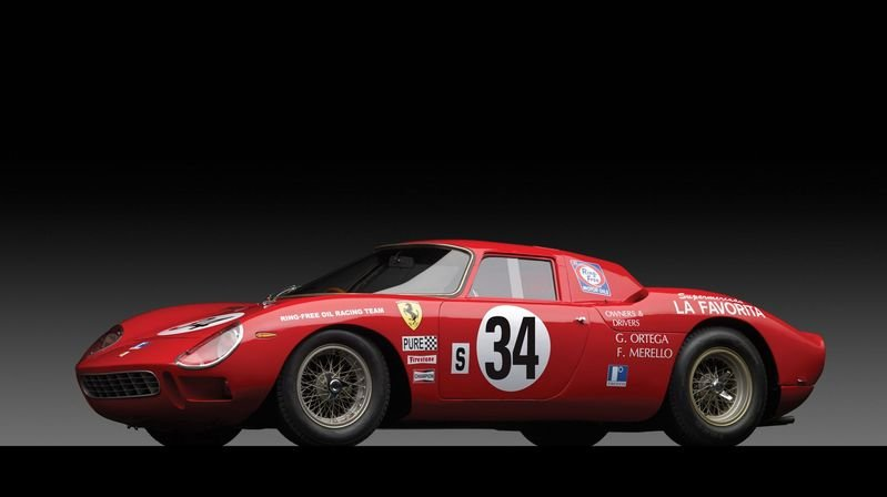 1964 Ferrari 250 LM Fetches $14 Million at Auction
