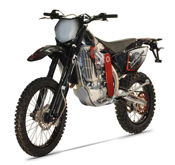 Motorcycle Review Top Speed: Christini AWD 450 Enduro - Picture 534322