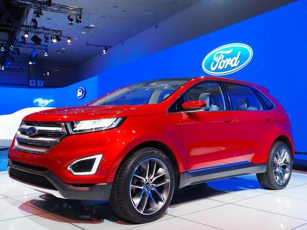 2013 ford edge concept car review top speed. Black Bedroom Furniture Sets. Home Design Ideas
