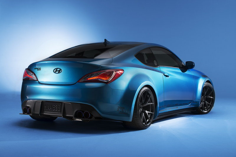 2013 Hyundai Genesis Coupe Atlantis Blue Review