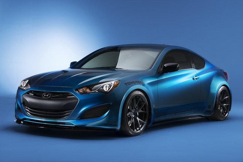 2013 Hyundai Genesis Coupe Atlantis Blue