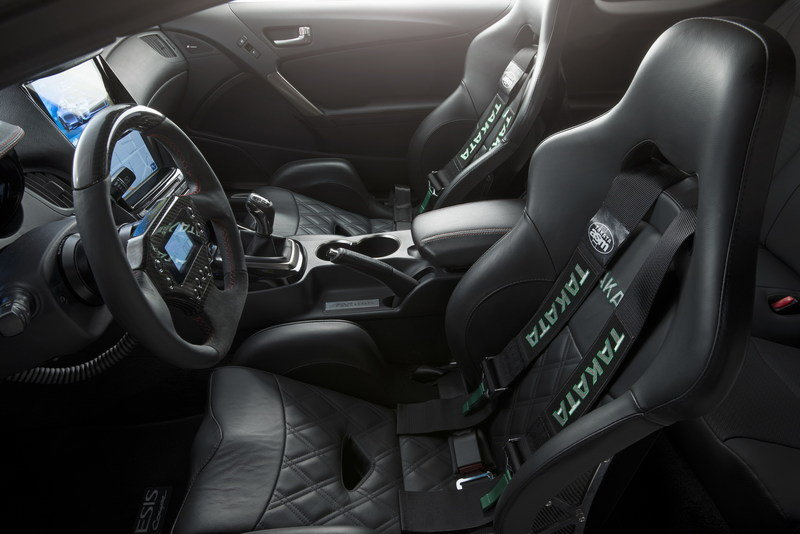 2013 Hyundai Genesis Coupe Legato Concept by ARK Performance Interior - image 531462
