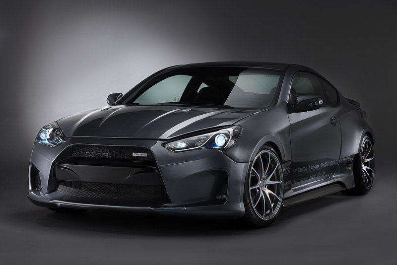 2013 Hyundai Genesis Coupe Legato Concept by ARK Performance
