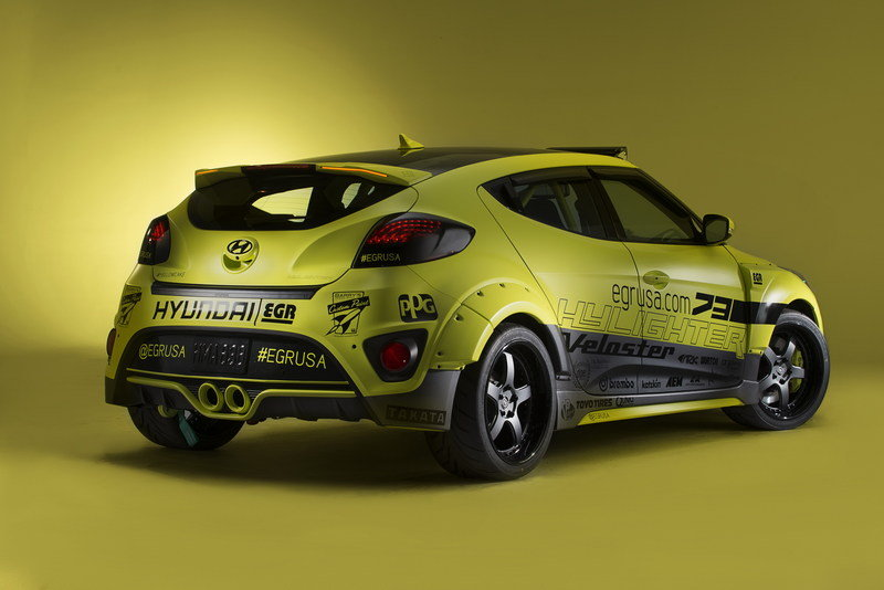 2013 Hyundai Veloster Night Racer Concept By Egr Group