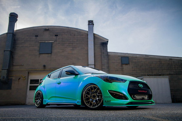 2013 Hyundai Veloster Turbo By Fox Marketing Review Top