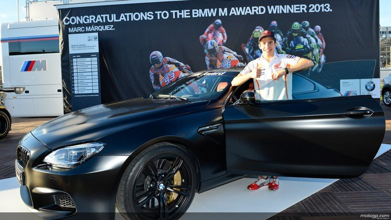 2013 MotoGP M Award Winner Gets BMW M6 Coupe Frozen Black