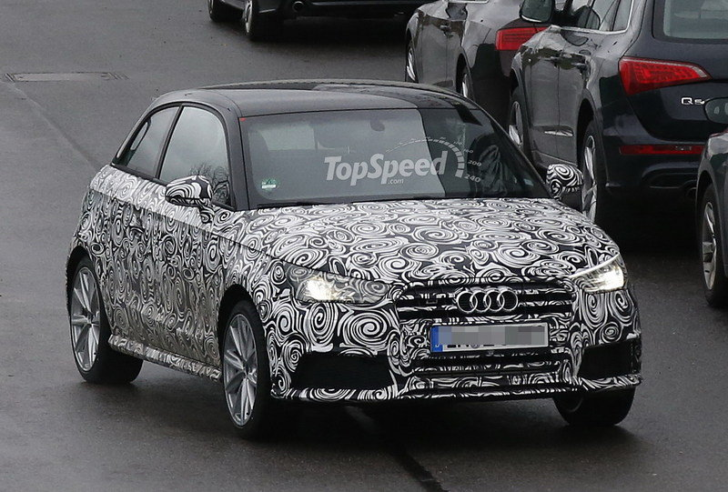 Spy Shots: Audi S1 Caught Testing in Germany