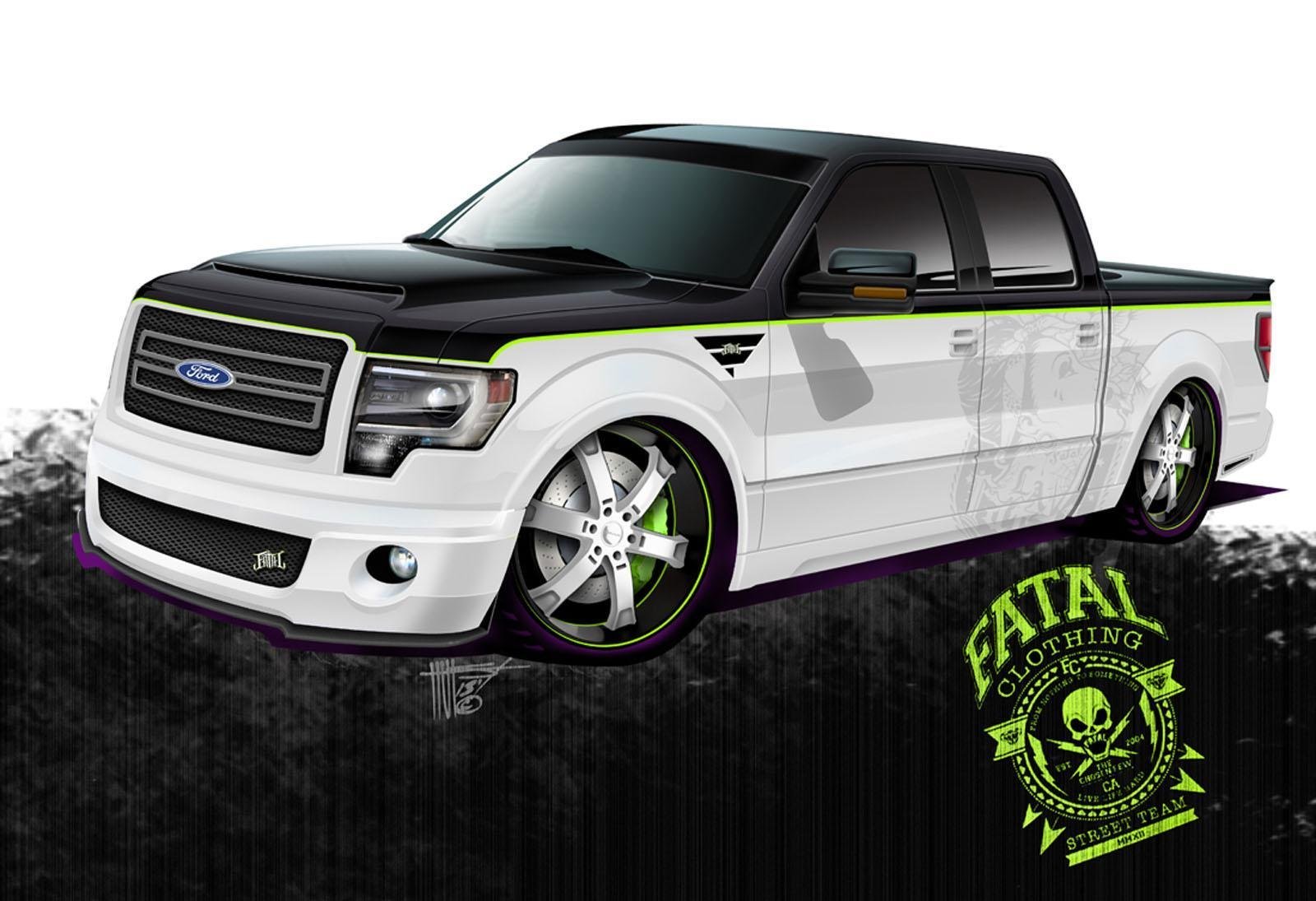 2014 ford f 150 by fatal clothing review top speed. Black Bedroom Furniture Sets. Home Design Ideas