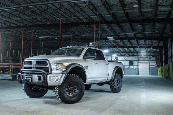 2014 Ram 2500 Concept By AEV @ Top Speed
