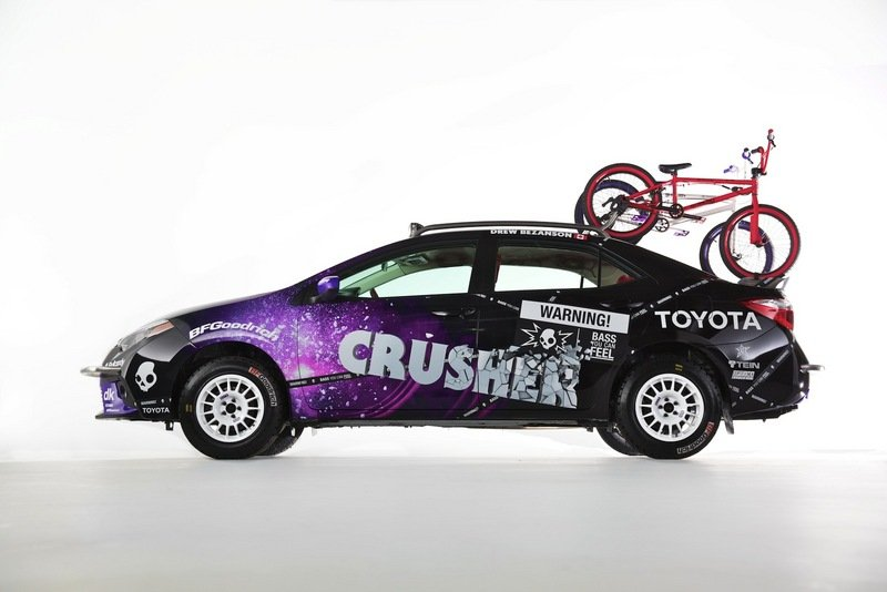 2014 Toyota Crusher Corolla by Drew Bezanson and Skullcandy