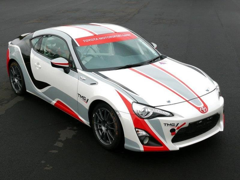 2014 Toyota GT 86 CS-R3 Rally Car