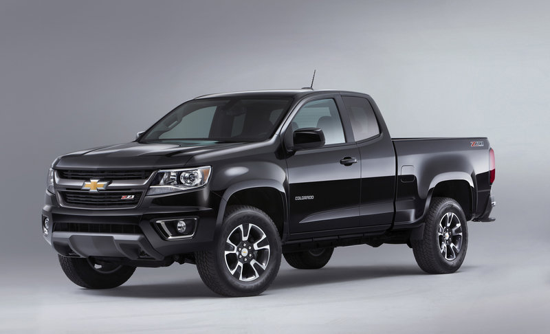 2015 Chevrolet Colorado: First Look High Resolution Exterior - image 533201