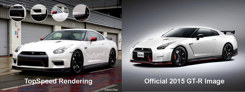 2015 Nissan GT-R Nismo Exterior Computer Renderings and Photoshop - image 532435