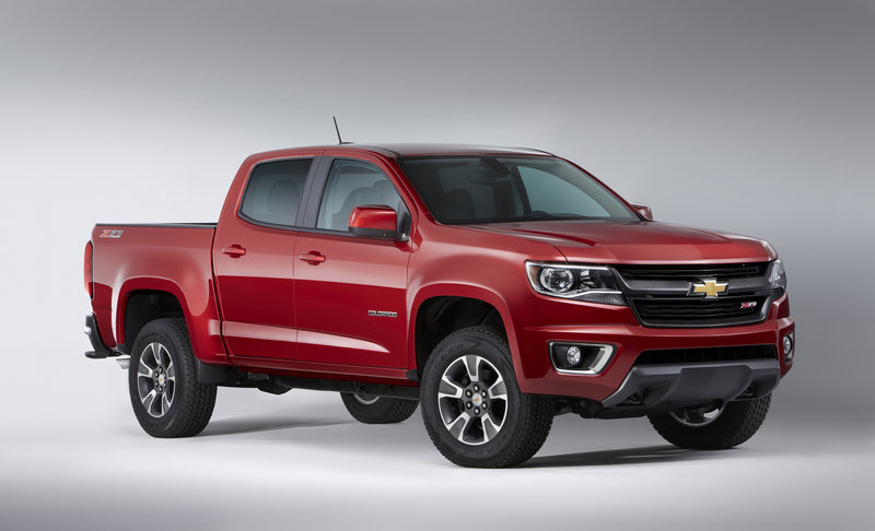2015 Chevrolet Colorado: First Look High Resolution Exterior - image 532907