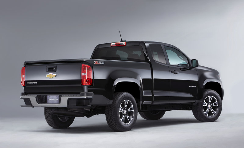 2015 Chevrolet Colorado: First Look High Resolution Exterior - image 532910