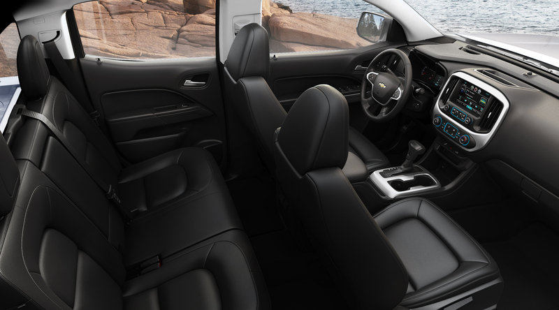 2015 Chevrolet Colorado: First Look Interior - image 532899