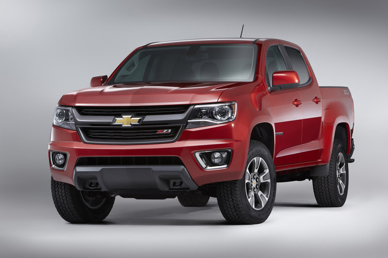 2015 Chevrolet Colorado: First Look High Resolution Exterior - image 532905