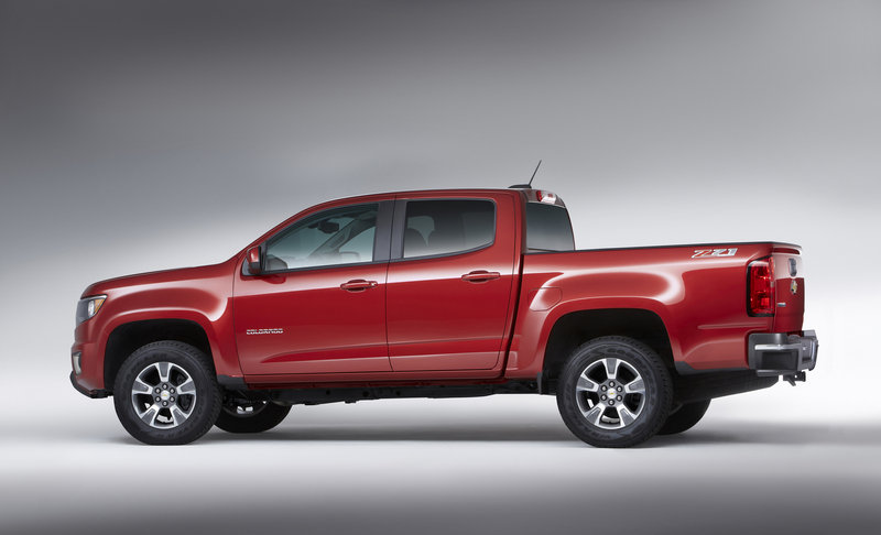 2015 Chevrolet Colorado: First Look High Resolution Exterior - image 532906