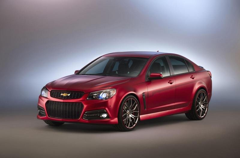 2014 Chevrolet Jeff Gordon SS Performance Sedan Concept