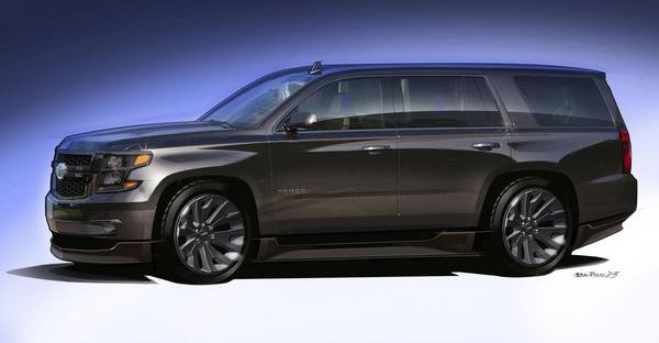 2015 Chevrolet Tahoe Black Concept Review - Top Speed