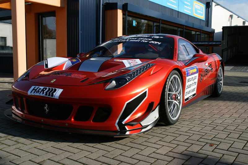 2013 Ferrari 458 Competition By Racing One