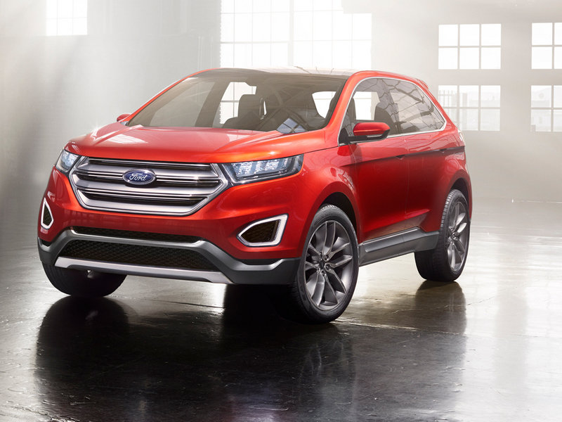 2013 Ford Edge Concept High Resolution Exterior - image 533227