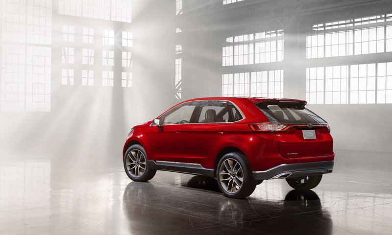 2013 Ford Edge Concept High Resolution Exterior - image 533216