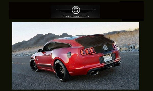 2014 Ford Shelby GT500 Station Wagon | car review @ Top Speed